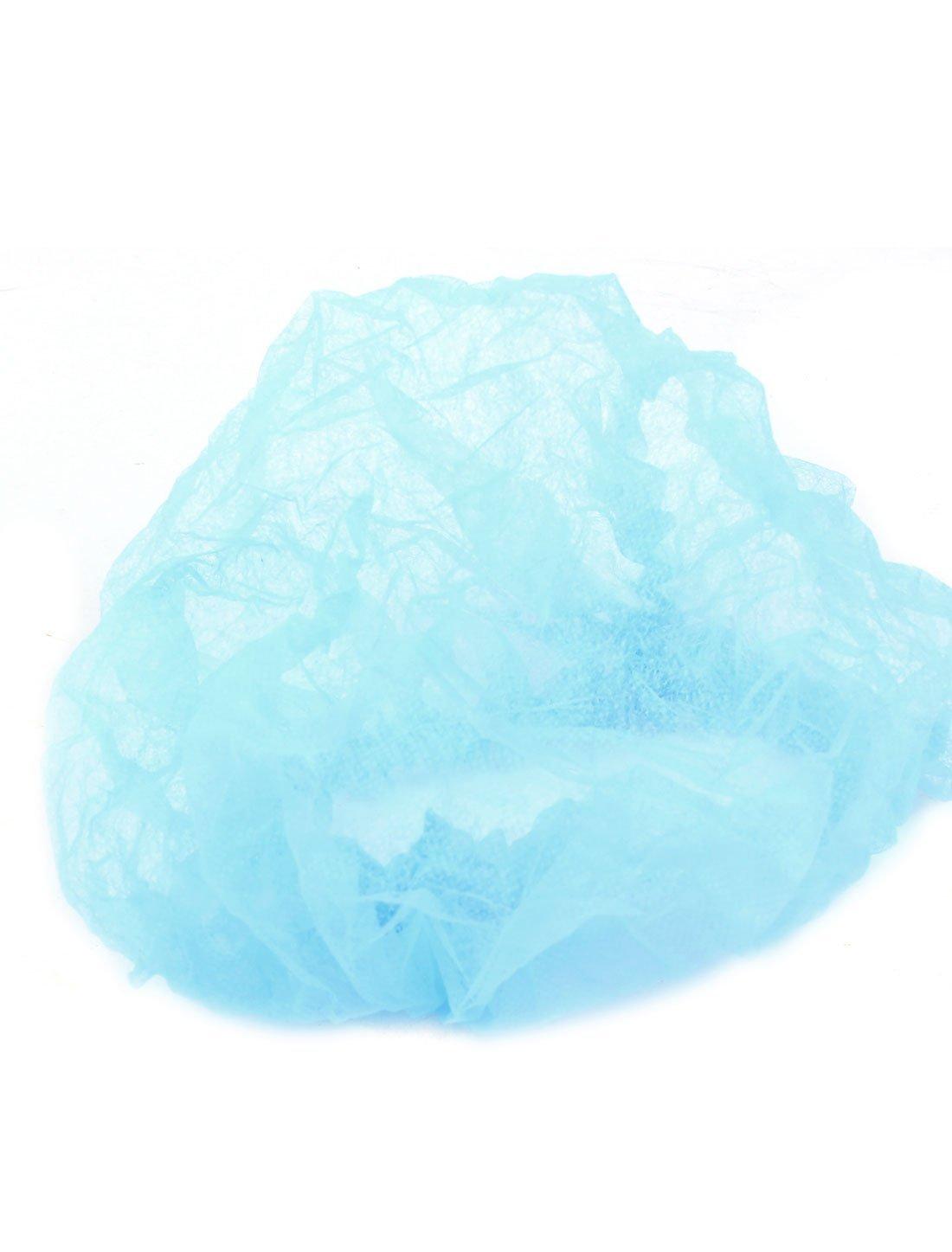 Amazon.com: eDealMax No Tejido elástico de la ducha del baño desechables Pelo 100PCS el casquillo Azul: Home & Kitchen