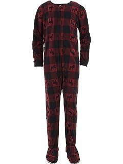 Amazon.com  Red Union Suit Boys   Girls Kids Pajamas Danger Blast ... a522aa4c4