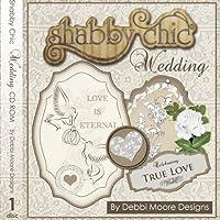 Debbi Moore Designs Shabby Chic Wedding CD Rom (295842)