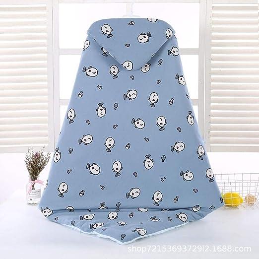 WTFYSYN Saco de Dormir de Manta portátil para bebé, edredón de otoño e Invierno para recién Nacido, Saco de Dormir de algodón Acolchado para bebé @ O: Amazon.es: Hogar