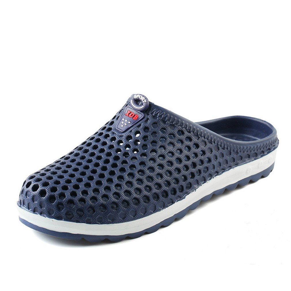 Hot NEW Summer Men Sandals Fashion Hollow Out Breathable Beach Slippers Display color2 7.5