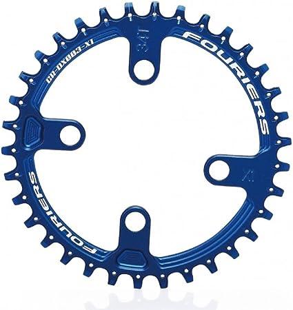 Black New Zoagear Single Speed Chainring 144 BCD 50 Teeth Fixed Gear Bike
