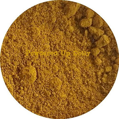 50 Gram Grams 1.76 Ounces YELLOW MATTE IRON OXIDE Art Craft Paint Powder Pigment Color by Powdered Up Dolly