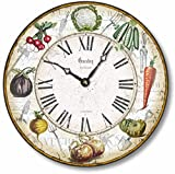 Fairy Freckles Studios Item C8216 Vintage Style 12 Inch Vegetable Garden Clock Review
