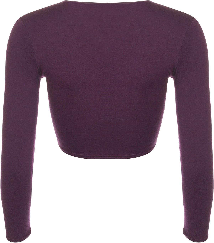 Tailles 36 /à 42 Hauts WearAll Cardigan /à Manches Longues avec Un Noeud Femmes
