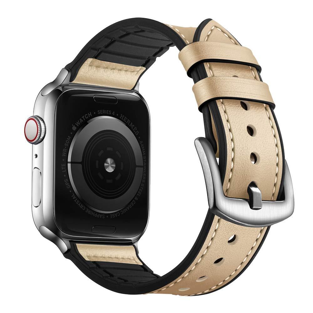 Malla Cuero para Apple Watch (42/44mm) OUHENG [7Q7YXG63]