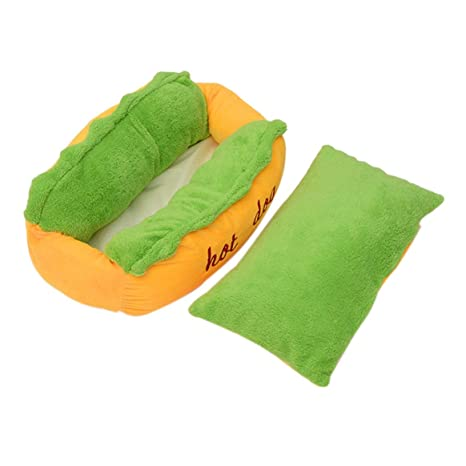 Cama para perros con forma de perro Cama para mascotas Sofá Cojín suave Cómoda dormir acogedora