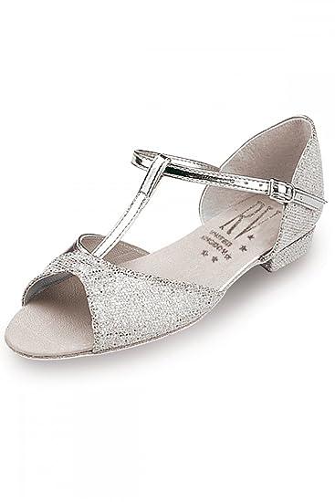 Roch Valley Marika Standard Tanzschuh für Damen Silber 13 (32) Uyu5l9KAh
