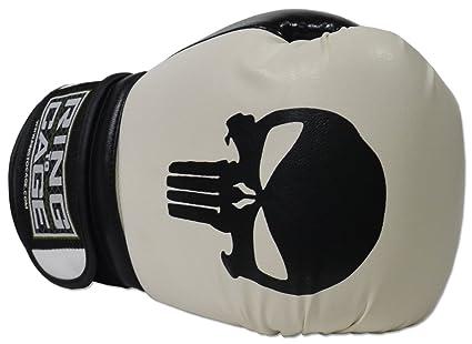 5e5873ad1 Amazon.com : Gym Training Stand-Up Boxing Gloves Skull (Punisher ...