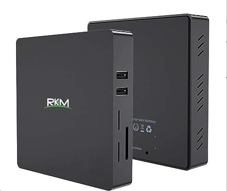 Rikomagic MK36T Plus - Mini PC con Windows 10 (64 bits, Intel Quad ...