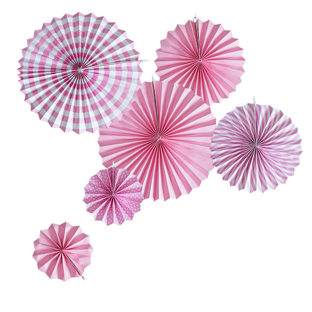 Beistle Positively Pink Assortment for 50-Inch Pink//Silver//White