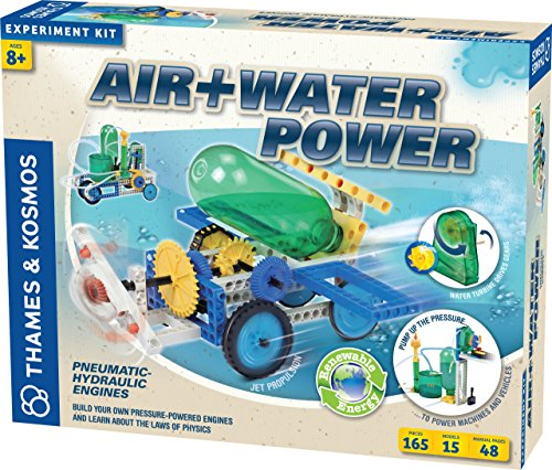 Thames & Kosmos Air + Water Power (Car Science Kit Rocket)