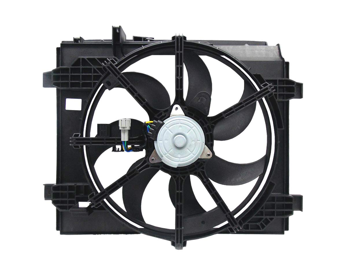 Automotive Cooling Radiator And Condenser Fan For Nissan Sentra NI3115146 100/% Tested