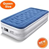 Amazon Com Ivation Ez Bed Twin Air Mattress With Frame Rolling
