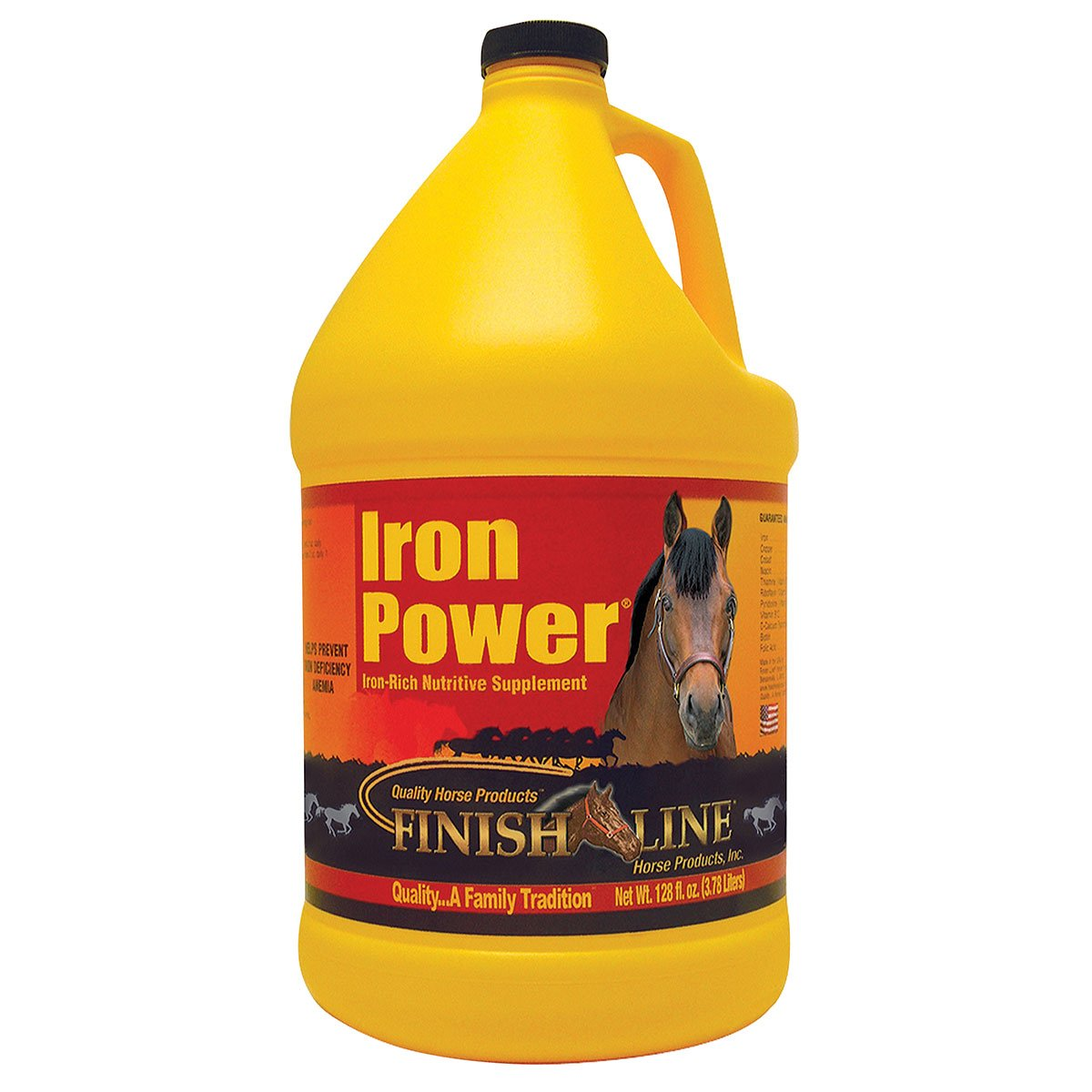 Finish Line Horse Products Iron Power (Gallon)