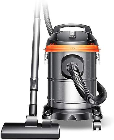 Aspiradora de cilindro sin bolsa con filtro antialérgico para pelos de mascotas, polen y ácaros del polvo, aspiradora de mano potente y ciclónica para piso de alfombra Potente + reducción de ruido.: