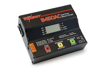 Amazon.com: Tenergy b450ac 45 W AC/DC Cargador de equilibrio ...