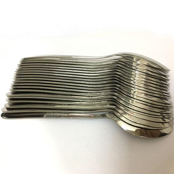 Wowfeu Lote de 10 piezas Pequeñas Cucharitas de Café Cuchara del Acero Inoxidable, 14,5 cm: Amazon.es: Hogar