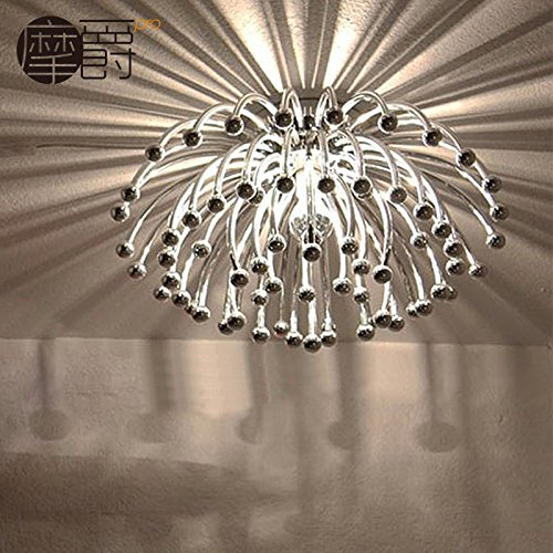 YPOSION Lighting the lamp jellyfish ceiling light ju lantern coral ceiling light bedroom living room dining room where the study lights,diameter 520mm