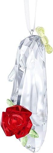 SWAROVSKI Belle Inspired Shoe Ornament, Crystal, Transparent, 5.4 x 7.8 x 4.1 cm