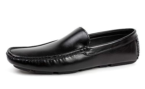 JAS Hombre Conducción Zapatos Casual Sin Cordones Italiano Mocasines Náuticos Mocasin: Amazon.es: Zapatos y complementos