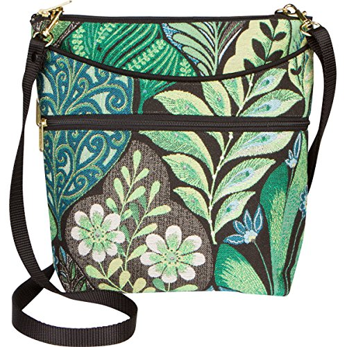 Danny K Women's Tapestry Bag Crossbody Fabric Handbag, Maggie Purse Handmade in the USA