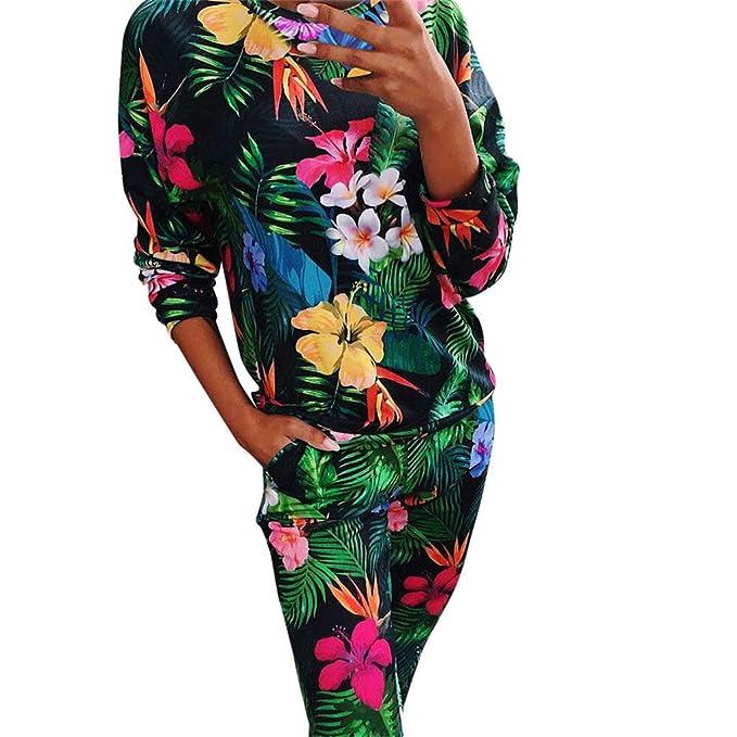 Amazon.com: Conjunto de trajes de chándal para mujer con ...