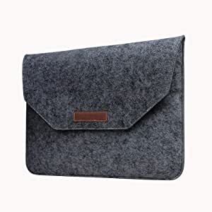 Touch Bar Envelop Felt Dustproof Smart Skin Case Cover For Apple Macbook Air 11 11.6 Inch [duplus]