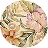 Safavieh Chelsea Collection HK212A Hand-Hooked Ivory Premium Wool Round Area Rug (5'6″ Diameter) Review