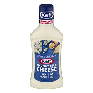 Kraft Chunky Blue Cheese Anything Dressing 16 oz (Pack of 6)