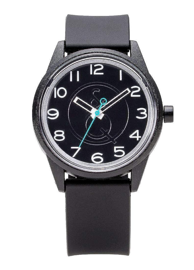 Q & Q Smile solar Unisex, respetuoso con el medio ambiente reloj por Citizen, 5ATM resistente al agua rp00j044y