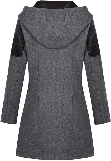 Tsmile Autumn Winter Women Warm Woolen Long Coat Fashion Trench Parka Jacket Belt Overcoat Outwea