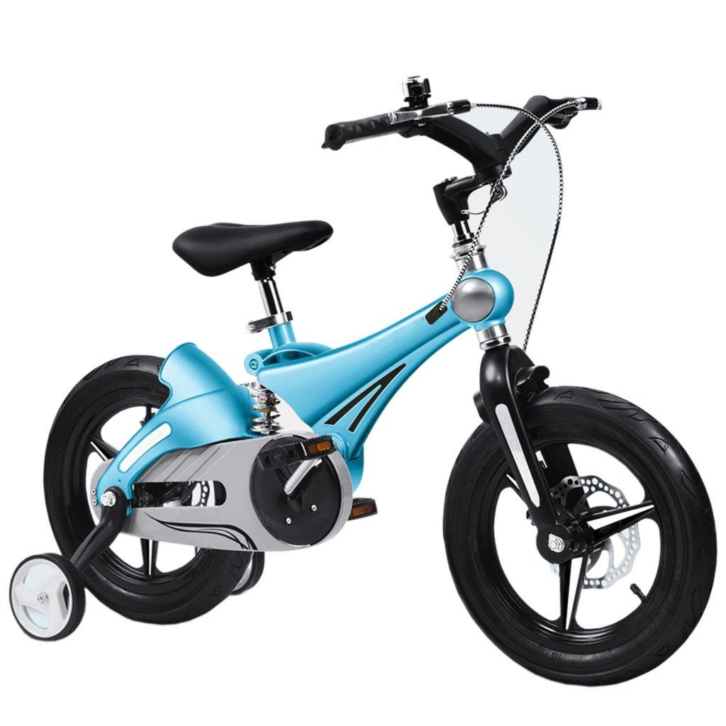 CGN子供用自転車、赤ちゃん子供用自転車マウンテンバイク自転車 soft B07CN8W96V青 14\