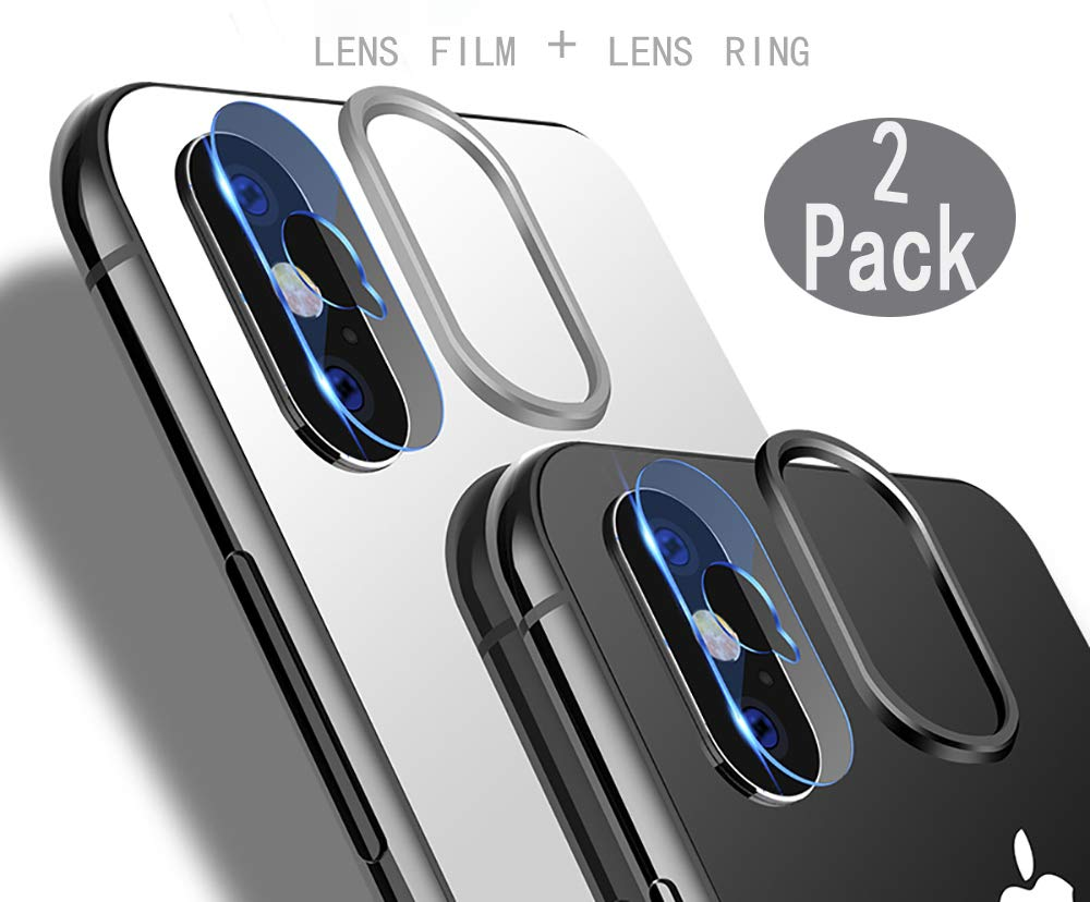 film protector para lente de iphone x