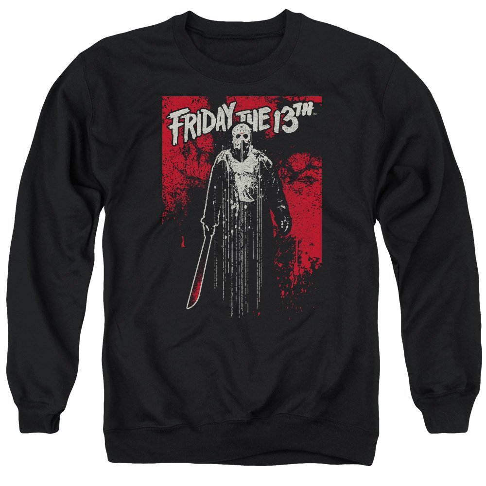 Unbekannt Friday The 13th - Freitag The 13Th - Drip Sweater für Männer