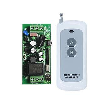 Lejin AC85V 110V 220V 230V Funk Fernbedienung Steuerung: Amazon.de ...