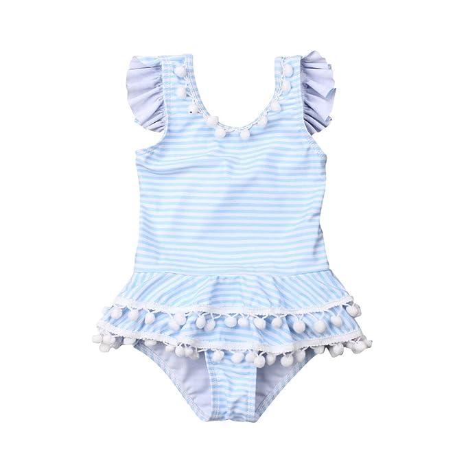 Amazon.com: ITFABS traje de baño sin mangas, con ...