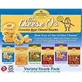 Sonoma Creamery-Mr. Cheese O's Variety Pack-Pack of 6-1oz Bags-High Protein, Low Carb, Gluten Free, Wheat Free, Corn Free Snack