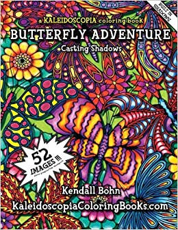 Amazon.com: Butteryfly Adventure: A Kaleidoscopia Coloring ...