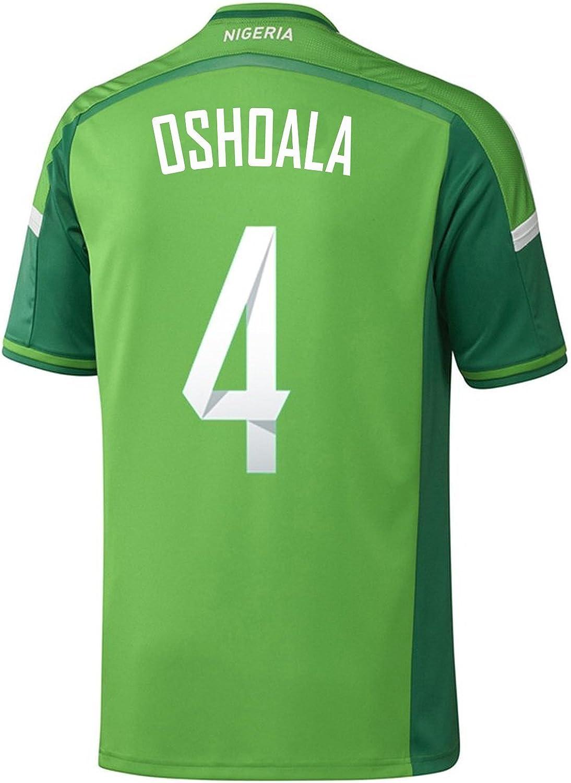 adidas OSHOALA #4 Nigeria Home Jersey World Cup 2015