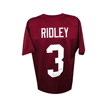 546f534c09e Image Unavailable. Image not available for. Color  Calvin Ridley RTR  Autographed Alabama Crimson Tide Custom Football Jersey ...