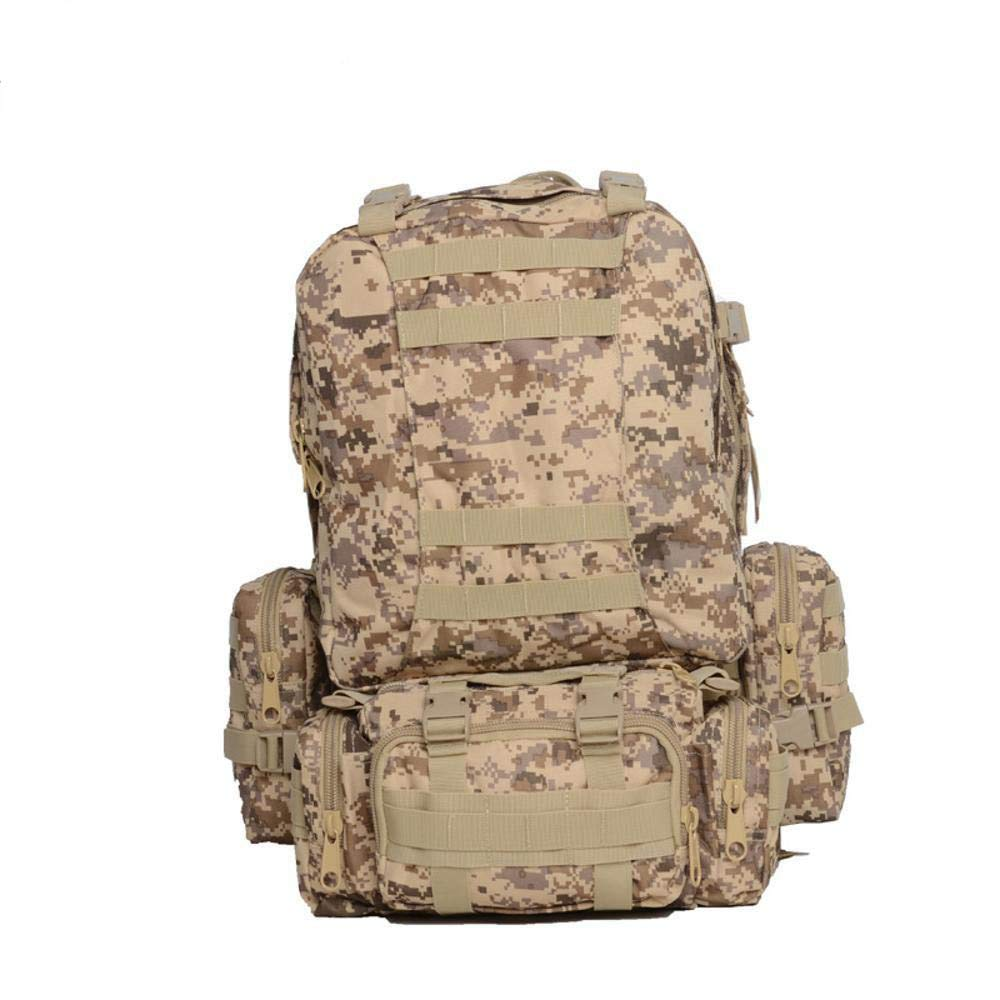 NuoEn Sports Backpack Camping Trip Rucksack Oxford Cloth Outdoor Backpack Trekking Tactical Pack