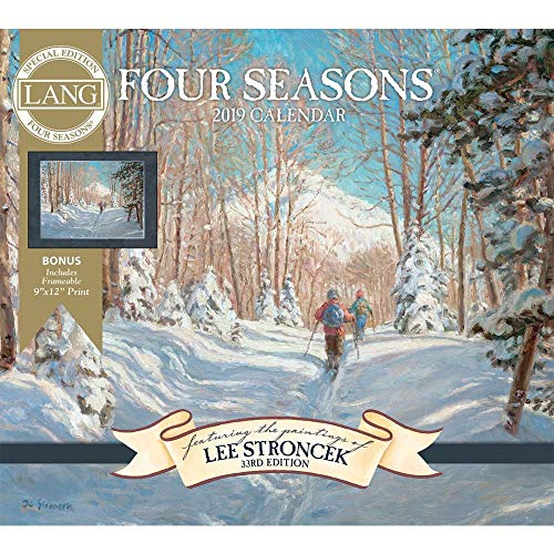 2019 Four Seasons Special Edition 2019 Wall Calendar, Lang Folk Art by Lang Comp