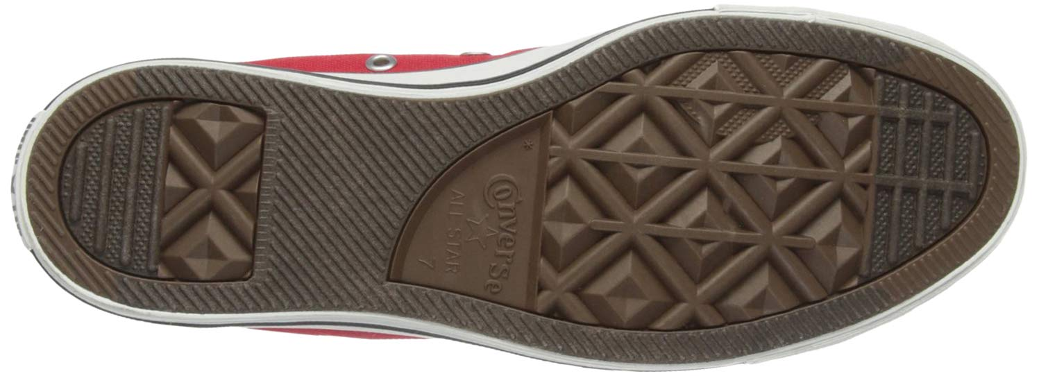 Converse Unisex Chuck Taylor All Star Low Top Red Sneakers - 6.5 D(M) US by Converse (Image #3)