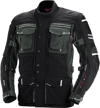 Ixs X Jacke Montevideo 2 Herren Motorradjacke Schwarz Grau Sport Freizeit