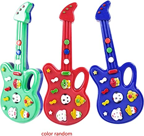 Uokoki Plástico Mini Kids Música de la guitarra eléctrica animal ...