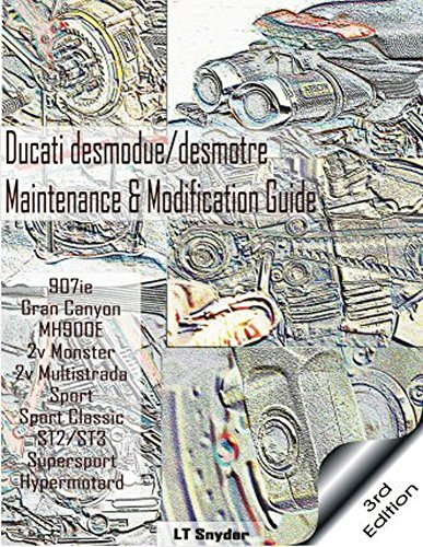 Desmo Times 3Rd Edition Ducati Desmodue Desmotre Maintenance   Modification Service Guide   Workshop Repair Manual