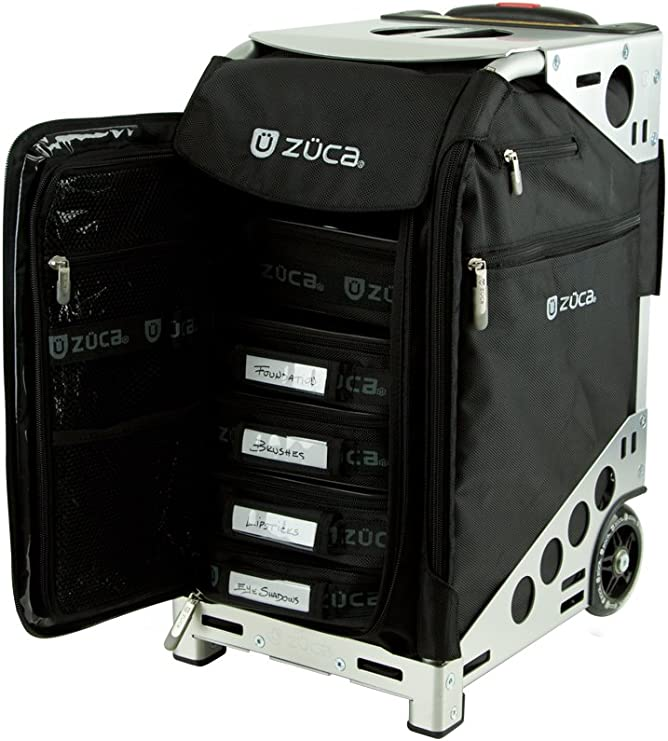 zuca clear makeup bag