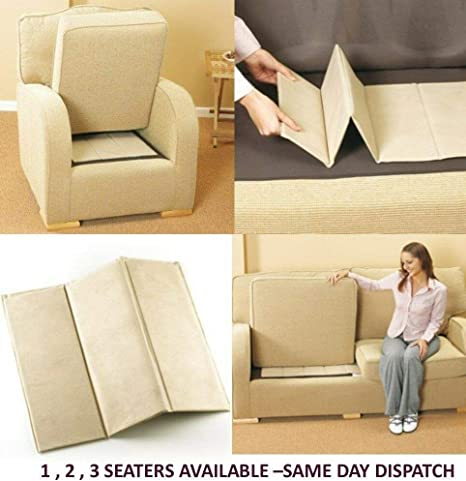 Sofa Seat Rejuvenator Board 1-2-3 Sagging Seat Support-3 Shipping 1 Seater