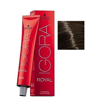 cf3c7ade93 Amazon.com : Schwarzkopf IGORA ROYAL Permanent Color Creme (6-0 Dark Blonde)  : Beauty